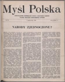 Myśl Polska : dwutygodnik poświęcony życiu i kulturze narodu 1944 nr 78