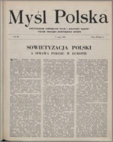 Myśl Polska : dwutygodnik poświęcony życiu i kulturze narodu 1945 nr 90