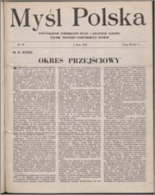 Myśl Polska : dwutygodnik poświęcony życiu i kulturze narodu 1945 nr 94