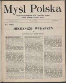 Myśl Polska : dwutygodnik poświęcony życiu i kulturze narodu 1946, R. 6 nr 2 (97)
