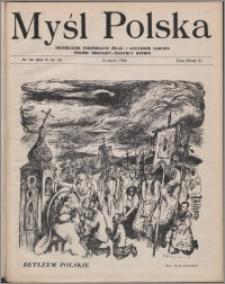 Myśl Polska : dwutygodnik poświęcony życiu i kulturze narodu 1946, R. 6 nr 10 (105)