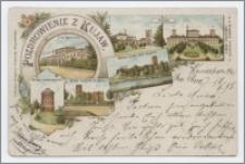 Pozdrowienie z Kujaw : Solanki, Mysza wieża nad Gopłem, Wieża wodociągowa, ruiny kościoła P. Maryi