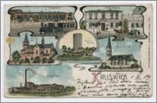 Kruświca : Dworzec, Hotel Goplo, Kościół Katolicki, Mysza-wieża, Kościół ew., Cukrownia