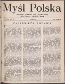 Myśl Polska : dwutygodnik poświęcony życiu i kulturze narodu 1950, R. 10 nr 10 (153)