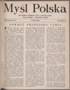 Myśl Polska : dwutygodnik poświęcony życiu i kulturze narodu 1950, R. 10 nr 12 (155)