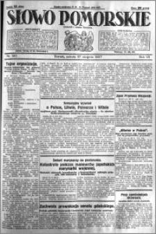 Słowo Pomorskie 1927.08.27 R.7 nr 195