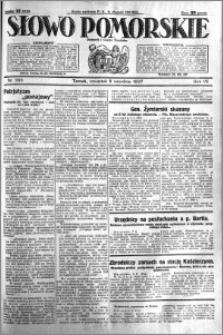 Słowo Pomorskie 1927.09.08 R.7 nr 205