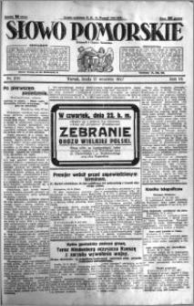 Słowo Pomorskie 1927.09.21 R.7 nr 216