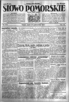 Słowo Pomorskie 1927.10.28 R.7 nr 248