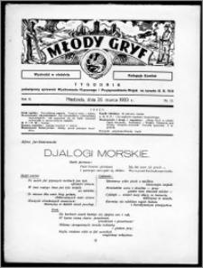 Młody Gryf 1933, R. 3, nr 13