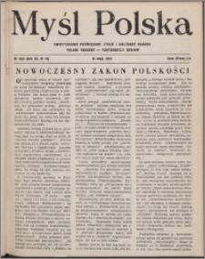 Myśl Polska : dwutygodnik poświęcony życiu i kulturze narodu 1952, R. 12 nr 10 (200)