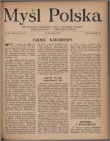 Myśl Polska : dwutygodnik poświęcony życiu i kulturze narodu 1952, R. 12 nr 18 (208)