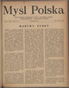 Myśl Polska : dwutygodnik poświęcony życiu i kulturze narodu 1952, R. 12 nr 21 (211)