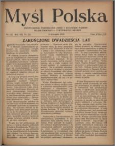 Myśl Polska : dwutygodnik poświęcony życiu i kulturze narodu 1952, R. 12 nr 22 (212)