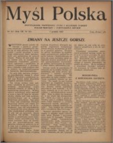 Myśl Polska : dwutygodnik poświęcony życiu i kulturze narodu 1952, R. 12 nr 23 (213)