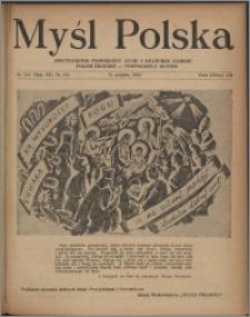 Myśl Polska : dwutygodnik poświęcony życiu i kulturze narodu 1952, R. 12 nr 24 (214)