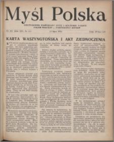 Myśl Polska : dwutygodnik poświęcony życiu i kulturze narodu 1954, R. 14 nr 14 (251)