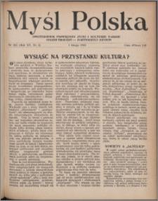 Myśl Polska : dwutygodnik poświęcony życiu i kulturze narodu 1955, R. 15 nr 3 (263)