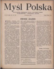 Myśl Polska : dwutygodnik poświęcony życiu i kulturze narodu 1955, R. 15 nr 12 (272)