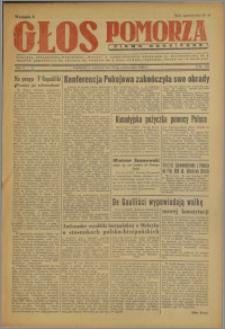Głos Pomorza : pismo codzienne 1946.10.17, R. 2 nr 237