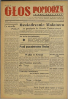 Głos Pomorza : pismo codzienne 1946.10.22, R. 2 nr 241