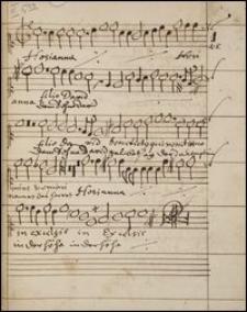 Zbiór utworów wokalnych : motety i pieśni sakralne łacińskie i niemieckie