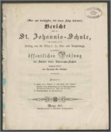 Bericht über die St. Johannis-Schule