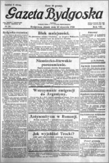 Gazeta Bydgoska 1928.01.20 R.7 nr 16