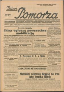 Dzień Pomorza, 1937.08.19 nr 190