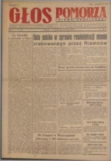 Głos Pomorza : pismo codzienne 1947.01.09, R. 3 nr 6