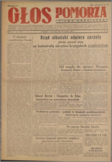 Głos Pomorza : pismo codzienne 1947.01.16, R. 3 nr 12