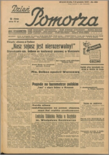 Dzień Pomorza, 1937.12.07/08, nr 282