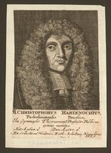 M. Christophorvs Hartknochivs [...]