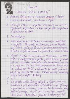 """Ankieta """"Słownik Polski Walczącej"""""""