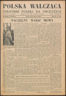 Polska Walcząca - Żołnierz Polski na Obczyźnie 1940.07.27, R. 2 nr 20