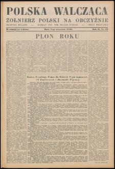 Polska Walcząca - Żołnierz Polski na Obczyźnie 1940.09.07, R. 2 nr 26