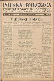 Polska Walcząca - Żołnierz Polski na Obczyźnie 1940.10.26, R. 2 nr 33