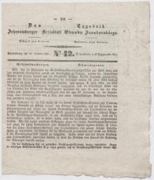 Johannisburger Kreisblatt = Tygodnik Obwodu Jansborskiego 1852 no. 42