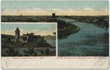 Zamek Kruszwicki w r. 1655. Widok Kruszwicy i Myszej wieży nad Gopłem.