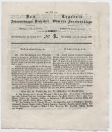 Johannisburger Kreisblatt = Tygodnik Obwodu Jansborskiego 1857 no. 4