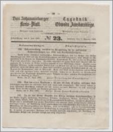 Johannisburger Kreisblatt = Tygodnik Obwodu Jansborskiego 1863 no. 23