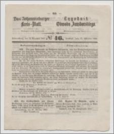 Johannisburger Kreisblatt = Tygodnik Obwodu Jansborskiego 1863 no. 46
