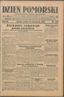Dzień Pomorski 1932.11.18, R. 4 nr 266