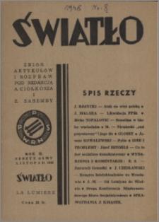 Światło 1948, R. 2 z. 8