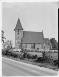 Przezmark [kościół parafialny pw. Podwyższenia Krzyża Świętego, widok od płd.]
