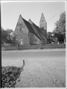 Papowo Biskupie [kościół parafialny pw. św. Mikołaja, widok od strony płd.-wsch.]