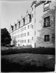 Oleśnica [Zamek, elewacja zachodnia]