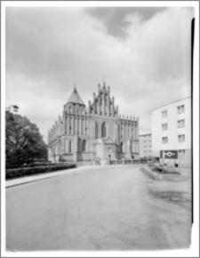 Orneta – Kościół parafialny pw. św. Jana Chrzciciela [elewacja zachodnia]