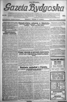 Gazeta Bydgoska 1923.09.23 R.2 nr 218