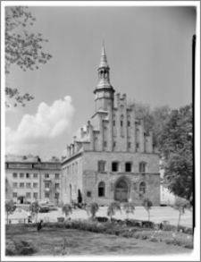 Morąg – Ratusz [widok od strony płd.]
